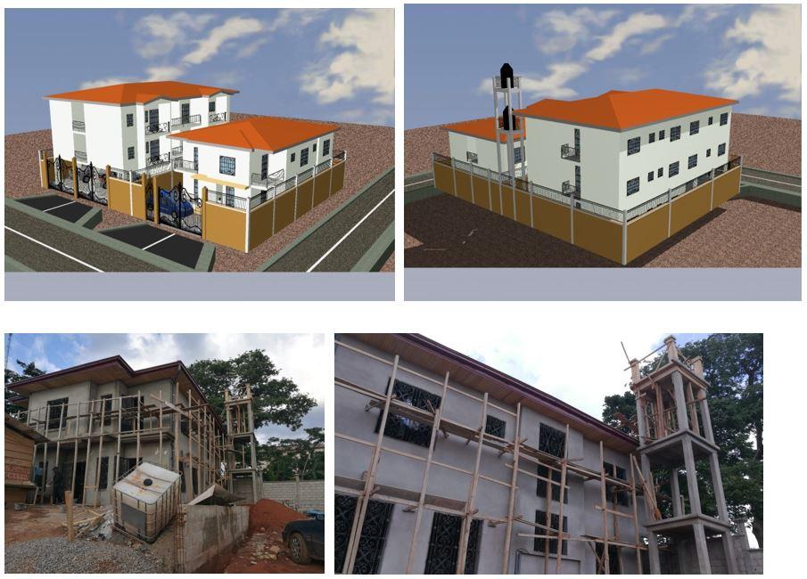 CONSTRUCTION D'UN DUPLEX ET D'UN BATIMENT TYPE RDC+2 à Yaoundé – Eleveur à M. DJOUFFO ELIE FRANCOIS