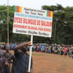 Defilé du 20 Mai 2017 à Bansoa - Lycée Bilingue