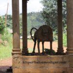 Entrée Chefferie Baloum - Le Lion