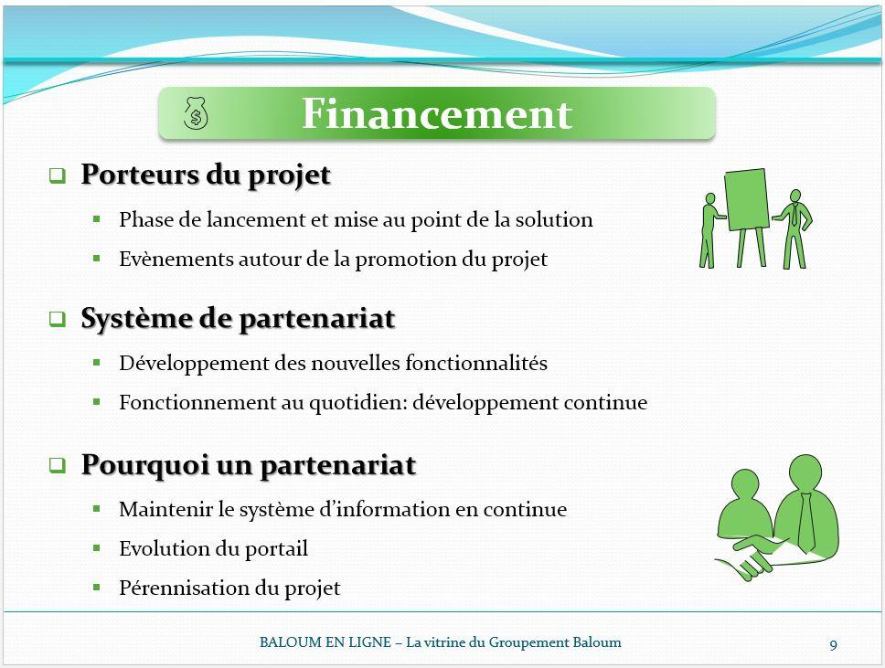 4 - Modalités de Financement